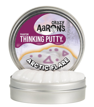 Thinking Putty - Arctic Flare 4 med Glow Charger