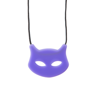 Chewigem Cat pendant purple