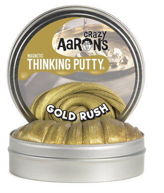 Thinking Putty - Gold Rush 4 med magnet