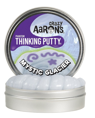 Thinking Putty - Mystic Glacier 4 med Glow Charger
