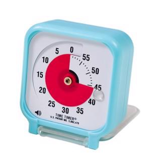 Time Timer Audio Pocket Version Turkis (7,5 x 7,5 cm)